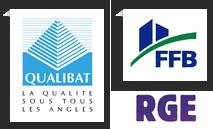 Entreprise certifiée Qualibat RGE et FFB
